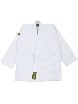 "MANTO ""Junior BASIC"" BJJ Gi białe"