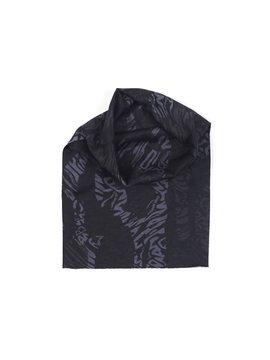"MANTO Komin multiscarf ""CAMO BLACK"""