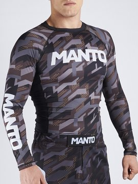 MANTO long sleeve rashguard TACTIC