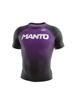 MANTO rashguard RANK purpurowy