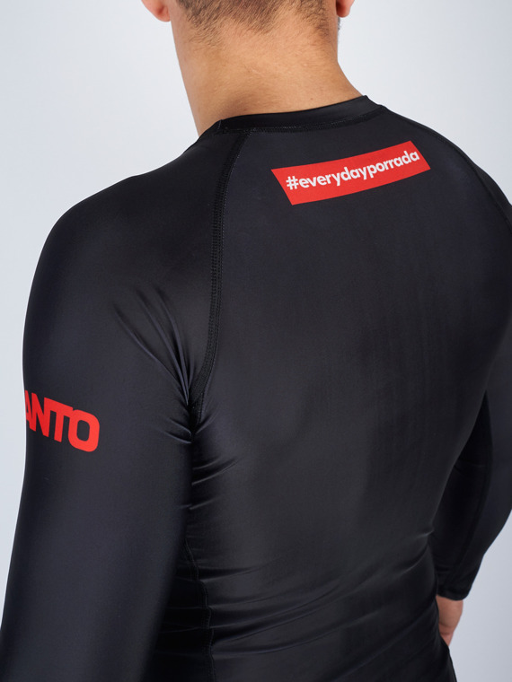 MANTO long sleeve rashguard EVERYDAYPORRADA V2 czarny