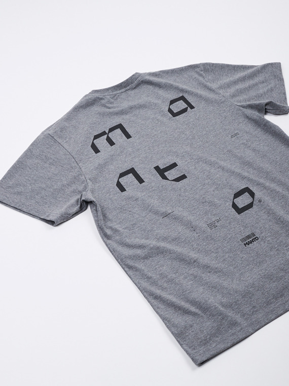 MANTO t-shirt TECH melanż