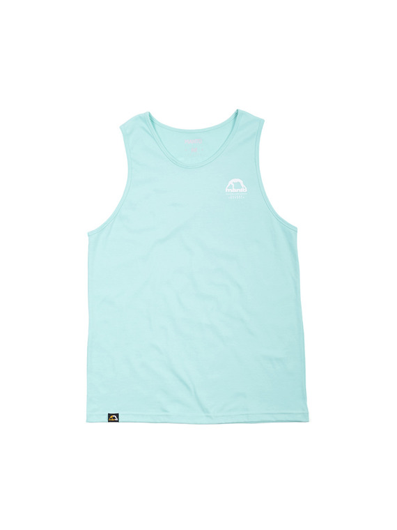 MANTO tank top STAMP miętowy